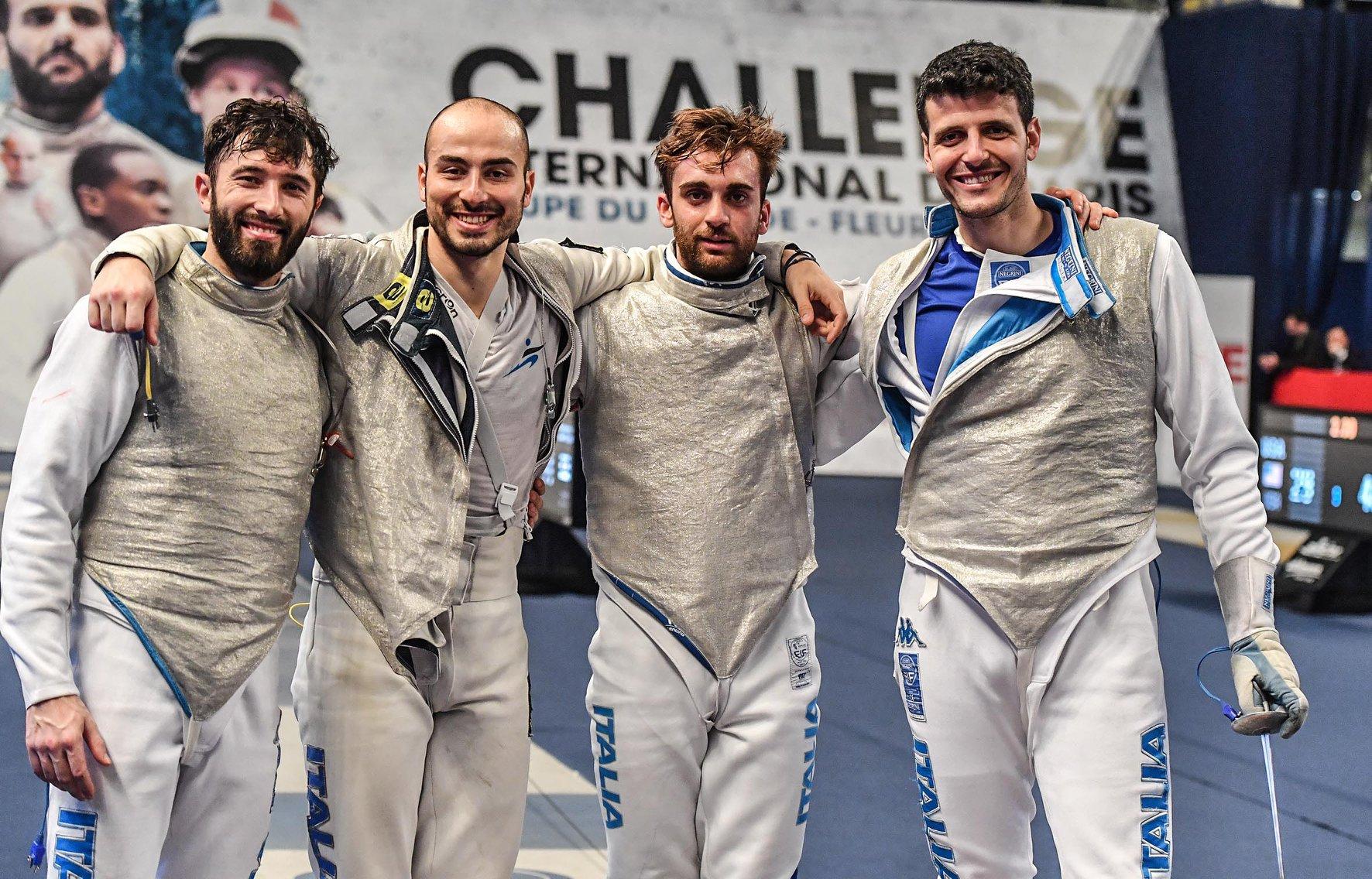 Italia Fioretto maschile Parigi2019 1