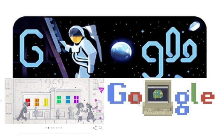 Google, i doodle più significativi del 2019. FOTO