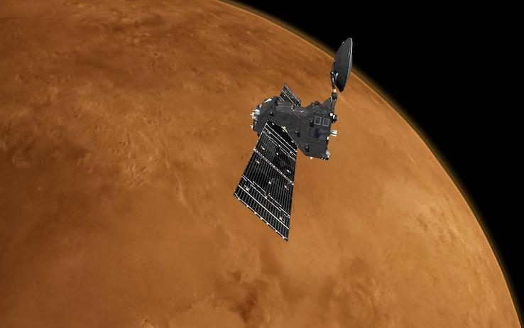 Atmosfera di Marte, svelato un mister...