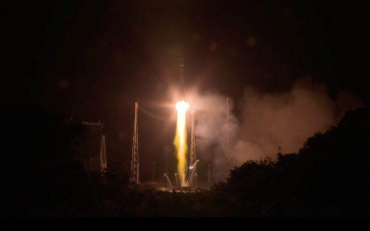 Lanciata la Soyuz, a bordo anche il s...