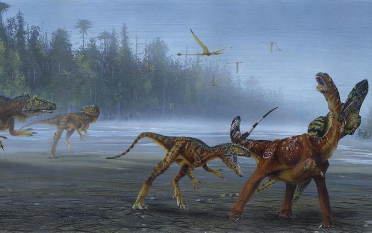 Scoperta nuova specie di dinosauro gr...