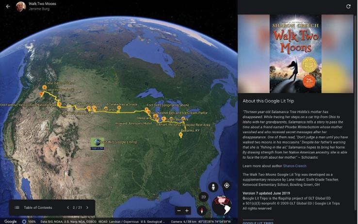 Su Google Earth arrivano le storie: e...