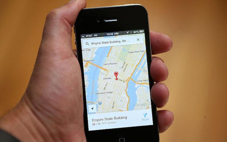 Google Maps testa nuovo accesso per n...