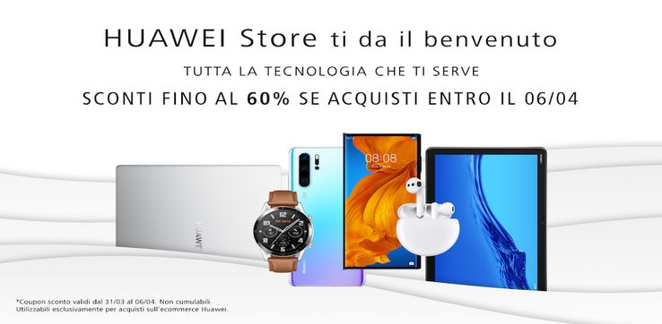 Huawei Store, online il nuovo e-comme...