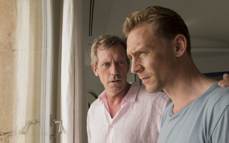 The Night Manager Hugh Laurie Tom Hiddleston