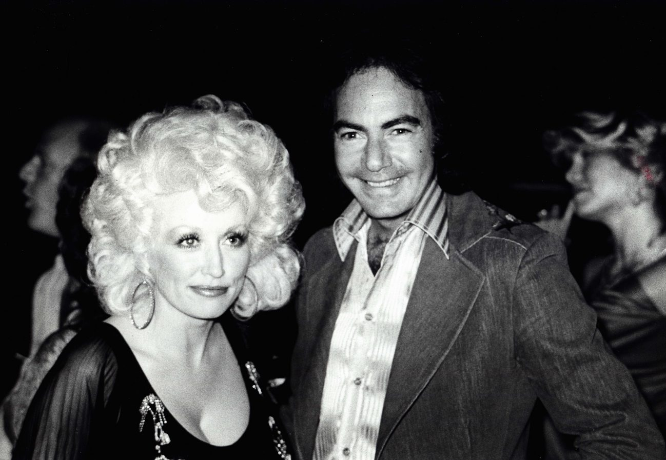 DOLLY PARTON Neil Diamond at Amphitheatre 1979.(Credit Image: © Nancy Barr/Globe Photos/ZUMAPRESS.com)