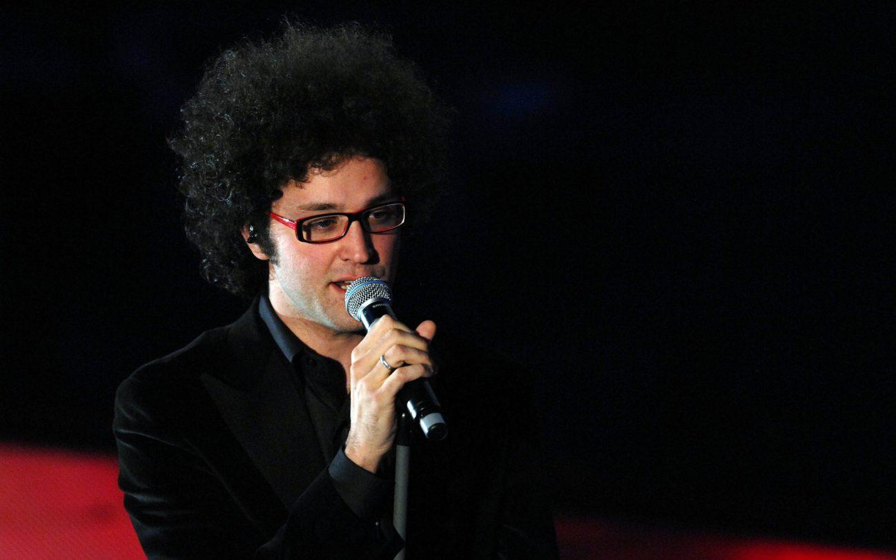 ©Gian Mattia D'Alberto/Lapresse 27-02-2007 Sanremo-IM, Italia Spettacolo 57° Festival della canzone Italiana Nella foto:Simone Cristicchi