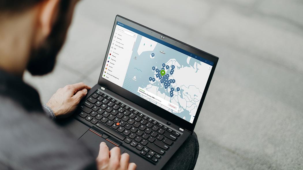 Attivazione NordVPN da Laptop Windows